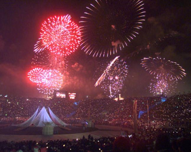 長野オリンピック開会式