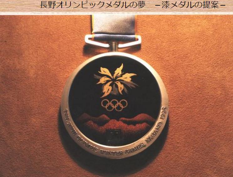 長野五輪メダル